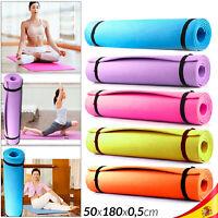 Esterilla para Gimnasia Yoga Colchoneta Deporte Pilates Fitness Alfombra Eva