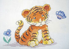 CL50 Toto the little Tiger Counted Cross Stitch Chart by Genny Haines