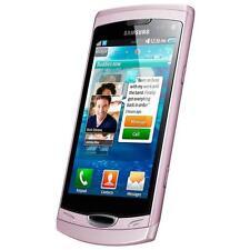 Téléphones mobiles Bluetooth roses Samsung