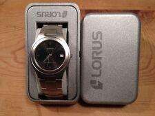 New - Reloj Watch Montre LORUS Ref. RXH01AX-9 - Quartz - Steel Acero - Nuevo