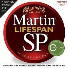 Martin SP Phosphor Bronze Lifespan Acoustic Guitar Strings Light 12-54 MSP7100