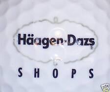 Food (1) Haagen Dazs Ice Cream Logo Golf Ball Balls