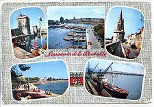 CP 17 CHARENTE-MARITIME - La Rochelle - Multivues - Blason
