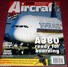 Aircraft Illustrated 2007 Nov A380,Norway F-5,F/A-18,Aviodome,Iberia