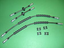 Vw Vanagon 80-92 Stainless Braided Brake Line Hose Kit
