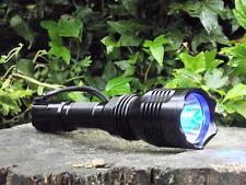 210 LUMEN LED JAGD TASCHENLAMPE mit BLAULICHT, JAGD LAMPE fur die Nachsuche, Neu