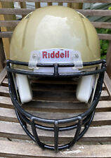 Riddell Speed Football Helmet Large Light Gold Reconditioned for 2019 Preowned