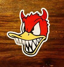 Donald Duck Sticker - Devil Punk Rock Heavy Metal