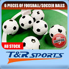 AU STOCK 6X 35MM SOCCER/FOOSBALL TABLE BALLS FUSSBALL INDOOR GAME FREE DELIVERY