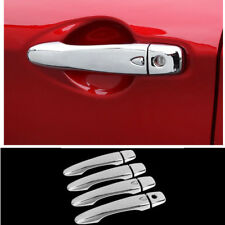 For Nissan Qashqai 2017 2018 ABS Chrome Side Door Handle Cover Trim