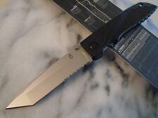 """Gerber Icon Tanto Big Pocket Knife Tactical Folder 7Cr17 31-003242 9 1/2"""" Open"""