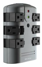Belkin Pivot Wall Mount Surge Protector with 6 Outlets, New, Free Shipping