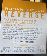 R + F Reverse Brightening Regimen-includes 4 Products. Details In description