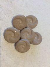 Beige Vintage Design Shank Plastic Buttons Ligne 30 – 19mm