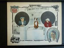 1923 LITTLE JOHNNY JONES - LOBBY CARD - SILENT HORSERACING - GAMBLING - COMEDY