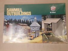 HO SCALE WALTHERS 933-3144 SAWMILL OUTBUILDINGS STRUCTURE KIT