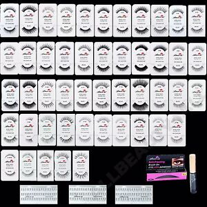 *PICK ANY 30 PAIRS* AmorUS 100% Natural Eye Lashes Human Hair False Eyelashes