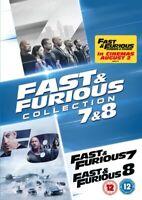 Fast & Furious 7 / 8 Nuovo DVD Region 2