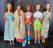 5 Barbie Dolls: WHITNEY & TERESA - Jewel Secrets, Perfume Pretty, Totally Hair +