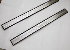 Tuscani Logo Metal Door Step Plate LH RH For Tiburon Coupe 2003 2009
