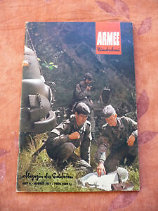 ARMEERUNDSCHAU 1967 Heft 8, Magazin des Soldaten, Militär, Soldaten, NVA