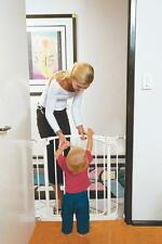 NEW DREAMBABY CHELSEA SECURITY GATE STANDARD WHITE CHILD SAFETY WHITE