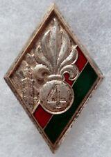 Insigne 1939 LEGION ETRANGERE ORIGINAL 4° REI Maroc Sahara WWII FRENCH FFL BADGE