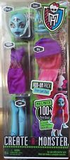Monster High Create-A-Monster 3-EYED Three Eyed GHOUL Girl Add-On Pack W9178 NEW