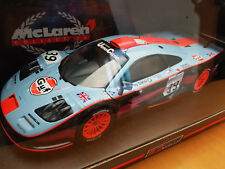 1:18 UT MODELS McLAREN F1 Long Tail #39 LE MANS 1997 GULF