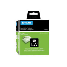 2 x DYMO 99010 Standard Address Label Black On White S0722370 (2 x rolls of 260)