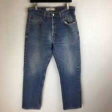 Levis Jeans - 505 Regular Fit Distressed - Tag Size: 33x30 (32x29.5) - #3637