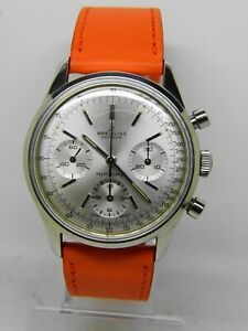 Watch Chronograph Breitling Toptime Ref 810 1ére Edition Of 1966 Full Set