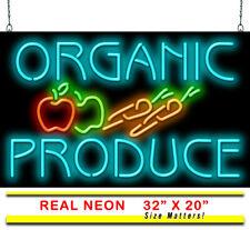 Organic Produce Neon Sign | Jantec | 32