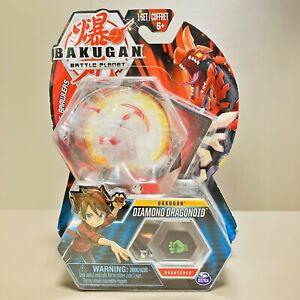 Bakugan Diamond Dragonoid Translucent Clear Battle Planet Bakucores