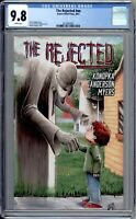 The Rejected 1 CGC Graded 9.8 NM/MT Source Point Press 2018
