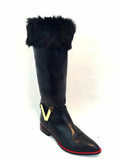New Ladies Faux Fur Fleece Liners Socks Fluffy Furry Cuff Leg Warmers Stocking