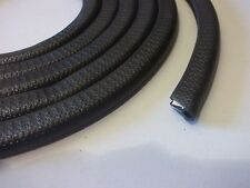 Classic Car Rubber Sill Trim Moulding Finisher Black 140cm PER SIDE edging x1