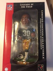 Forever Collectables Legends of the Field Ahman Green Bay Packers Bobble Head