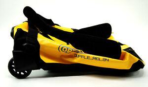 Ortlieb RG Duffel Bag K12002  w/ Wheels, Waterproof, Yellow, 34L, $325 MSRP