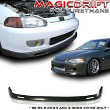 92-95 Honda Civic EG 2/3DR Front Bumper Lower Lip Spoiler Backyard BYS Style JDM