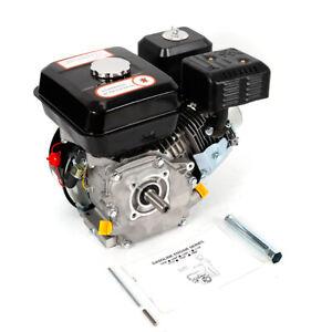 4Takt Gasmotor OHV ZT210 Ersatzmotor Rücklaufstartmotor Go Kart Engine 7,5 PS