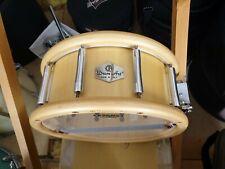 "Drum Art 14"" x 6.5"" Spruce Block snare drum wih case"