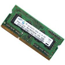 2GB(2x1GB) Samsung DDR3 PC3-8500 1066MHz Laptop SODIMM RAM Memory Upgrade Kit