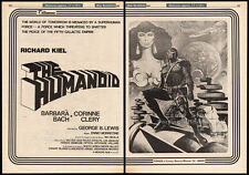 THE HUMANOID__Original 1978 Cannes Trade AD / poster__RICHARD KIEL__BARBARA BACH
