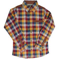 Camisas de niño de 2 a 16 años mangas largas multicolores