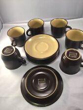 Noritake - Safari (Qty 6) cups & saucers #8501 / Mint- condition