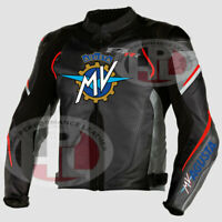 New Motorcycle MV Agusta SC F3 F4 Motogp Racing leather jackets