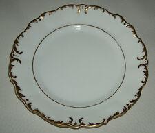 Antiker Porzellanteller mit Gold Handbemalung - 20 cm Durchmesser - unbeschädigt