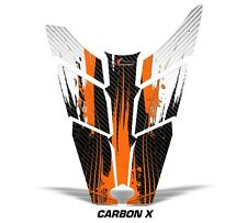 Sled Hood Graphics Kit Decal Sticker Wrap For Polaris Rush RMK 11-16 CARBONX ORG