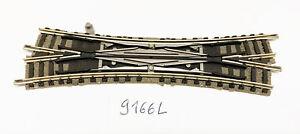 9166 L - Double Slip Switch Link Crossing Fleischmann N Gauge